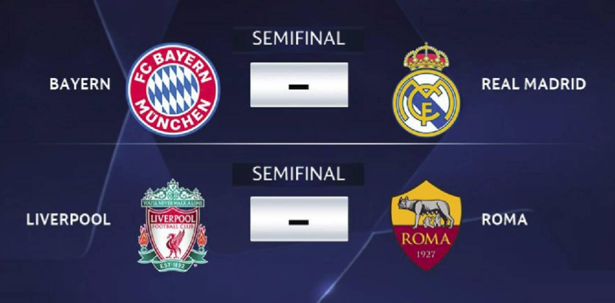 bayern vs rom champions league